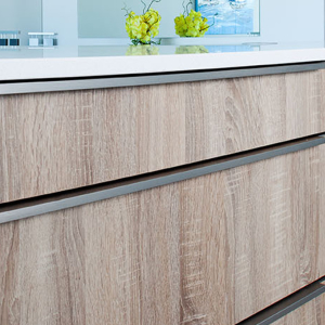 Kitchen Cabinet Design - Wood Look