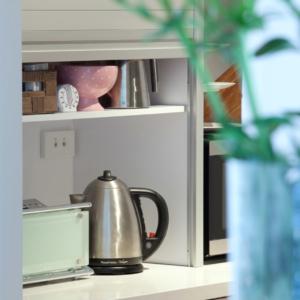 Appliance cupboard renovation