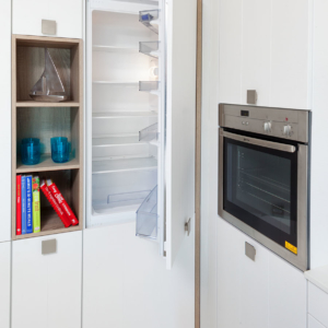 Kitchen Design - Integrated Fridge