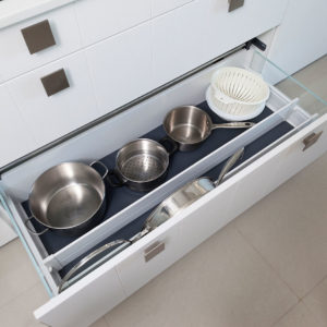 Storage inside drawers