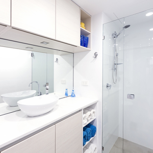 small bathroom design perth