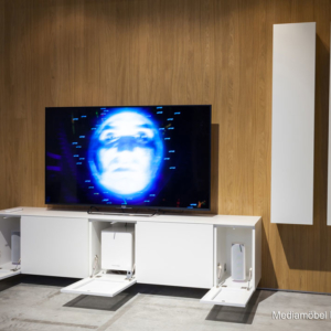 Integrated TV unit design