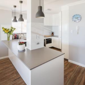 concrete look kitchen tops